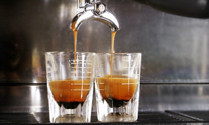 Hot Spots Espresso Company - Santa Barbara Downtown: $10 for Ten Single-Brew, Pour-Over Cups of Coffee at Hot Spots Espresso Company (Up to $28.50 Value)