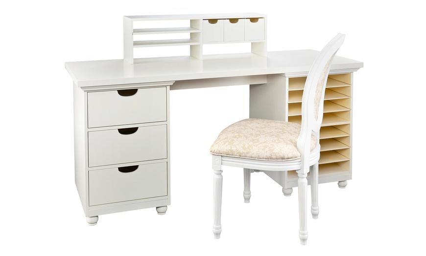 Craft Room Furniture Pieces Groupon Goods, Anna Griffin Craft Room Furniture