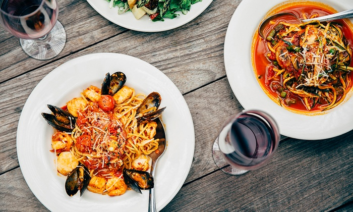 Gusto Parkgate Restaurant - Dublin: Two-Course Meal for Two with an Optional Glass of Prosecco at Gusto Parkgate Restaurant