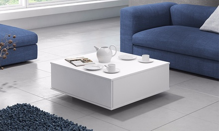 table basse avec espace de rangement pop groupon. Black Bedroom Furniture Sets. Home Design Ideas