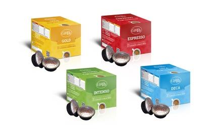 Fino a 384 capsule Poli compatibili Lavazza A Modo Mio, disponibili in varie miscele