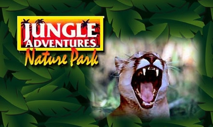 Jungle Adventures - East Orange: $19 for Two Full-Day Passes to Jungle Adventures (Up to $42 Value)
