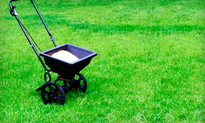 Cutting Edge Lawn Care - Greenville: Lawn Fertilization or Lawn Insect Treatment from Cutting Edge Lawn Care