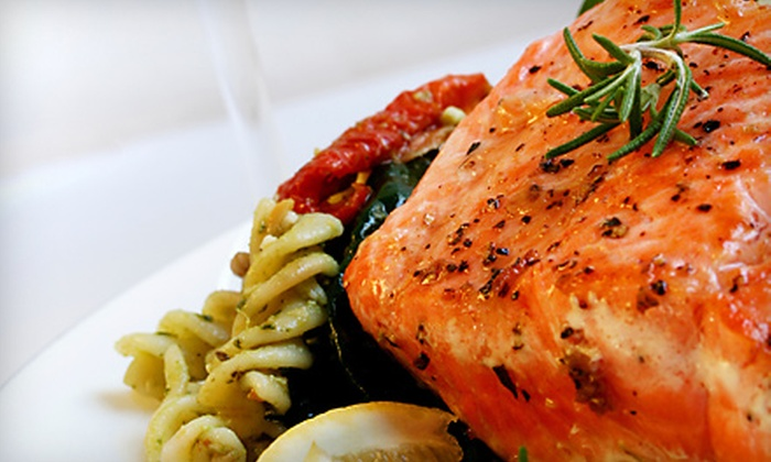 Town Square Grill - Downtown: Upscale Fare for Dinner for Two or Four or for Lunch for Two at Town Square Grill (Up to 65% Off)