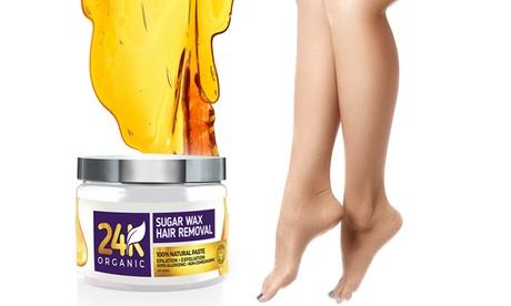24K Organic Unisex Sugar Wax Removal Kit 6165f93e-149f-11e7-a887-00259069d868