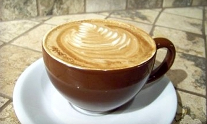 Coffee Waves - Corpus Christi: $5 for $10 Worth of Coffee, Tea, Treats, and Paninis at Coffee Waves