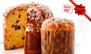 Pandoro Panetteria - Auckland: Large Christmas Panettone ($25) or Pudding ($35) at Pandoro Panetteria - Auckland, Four Locations (Up to $42 Value)