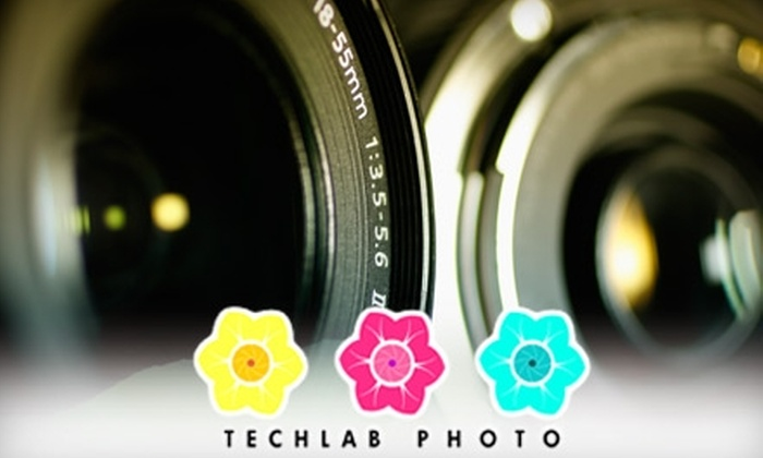 Techlab Photo - Multiple Locations: $24 for $50 Worth of Photo Restoration, Traditional Film Processing, Digital-Video Conversion, and More at Techlab Photo