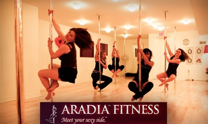 "Aradia Fitness - Cary: $12 for Introductory Pole Dance ""Teaser"" Class at Aradia Fitness"