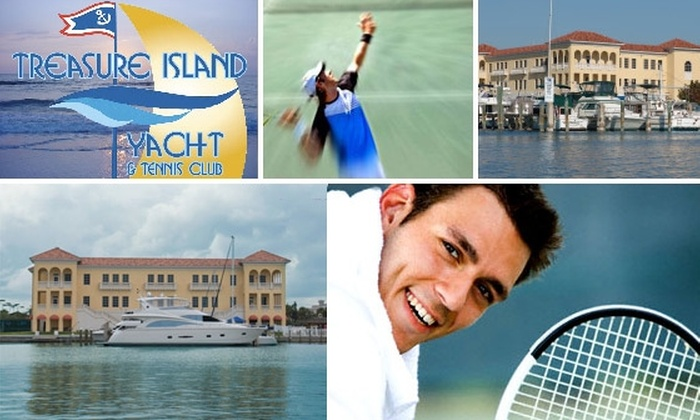 Treasure Island Yacht and Tennis Club - Paradise Island: $25 for $50 Worth of Fine Dining and Trial Membership Discount at Treasure Island Yacht & Tennis Club