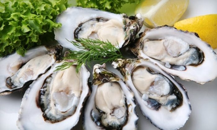 Amalfi On The Water - Rockland: $20 for $40 Worth of Seafood and Drinks at Amalfi On The Water in Rockland