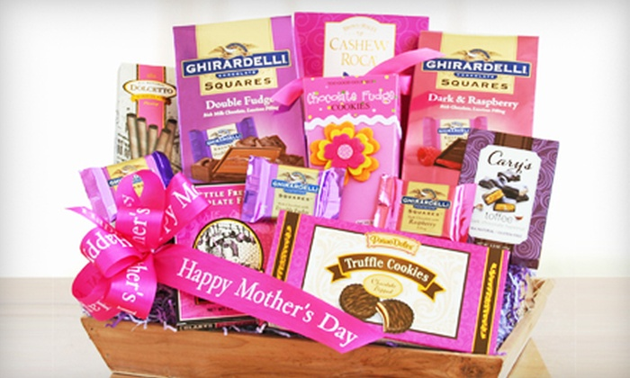 California Delicious: Mother's Day Gift Basket with Free Shipping from California Delicious (36% Off). Three Options Available.