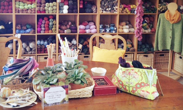 Yarnover - Avon: Three or Six Knitting Classes at Yarnover in Avon (51% Off)