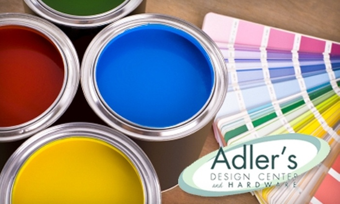 Adler's Design Center and Hardware - Fox Point: $10 for $20 Worth of Decorative Hardware and Home Improvement Goods at Adler's Design Center and Hardware