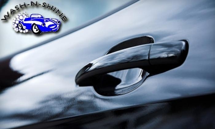 Wash-N-Shine - Multiple Locations: $5 for a Super Shine Car Wash at Wash-N-Shine
