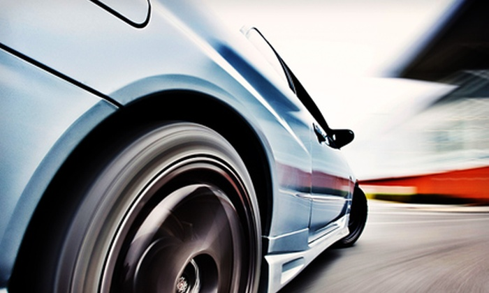 U-Drift - Clark: Learn To Drift Stunt-Driving Experience or Sunset Drift Package at U-Drift (Up to 54% Off)