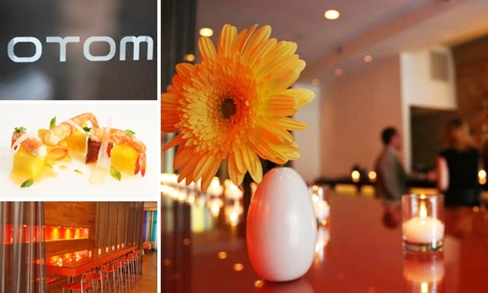 Otom - West Loop: $30 for $60 Worth of Upscale Cuisine and Drinks at Otom