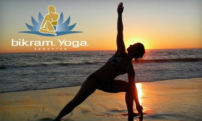 Bikram Yoga Edmonton - Multiple Locations: $15 for One Week of Unlimited Bikram Yoga Classes at Bikram Yoga Edmonton ($30 Value)