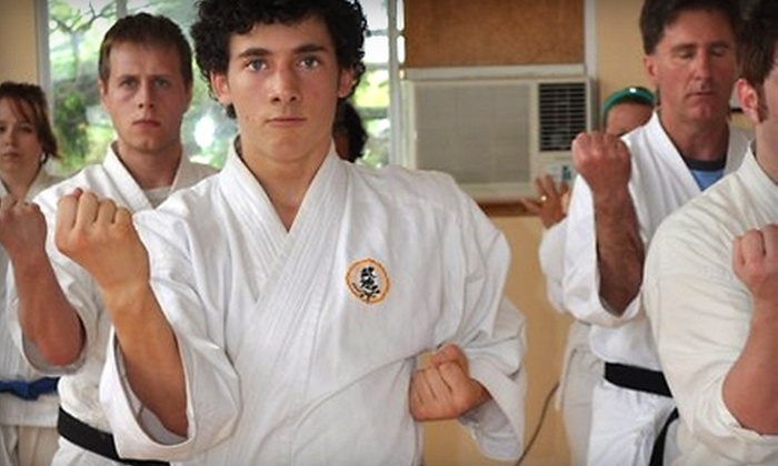 Tallack Martial Arts - Kingston / Belleville: $49 for One Month of Unlimited Adult Karate Classes at Tallack Martial Arts ($168.10 Value)