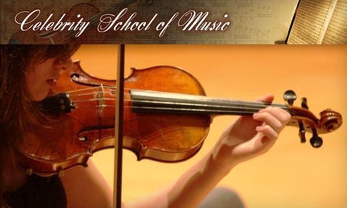 Celebrity School of Music - Warrensville Heights: $25 for Two Music Lessons at Celebrity School of Music