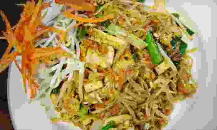 Ploi Thai - East Rutherford: Thai Dinner for Two or Four at Ploi Thai in East Rutherford (Up to 60% Off)