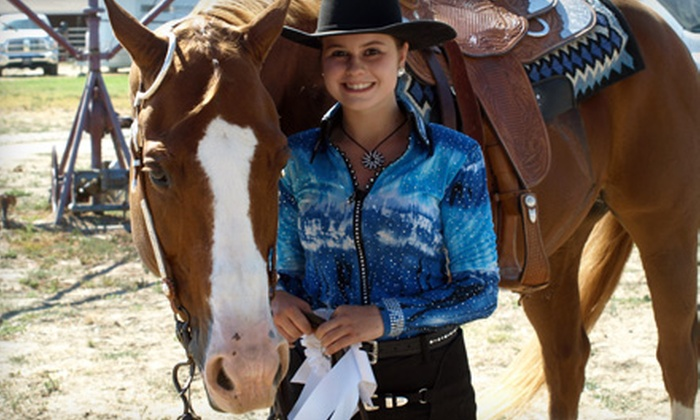 Hillcrest Farms - Sunol: Two or Four Group Western-Horseback-Riding Lessons or a Children's Birthday Package at Hillcrest Farms in Sunol
