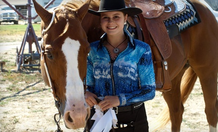 2 Group Western-Horseback-Riding Lessons  (a $90 value) - Hillcrest Farms in Sunol
