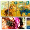 Abstract Art on Gallery-Wrapped Canvas