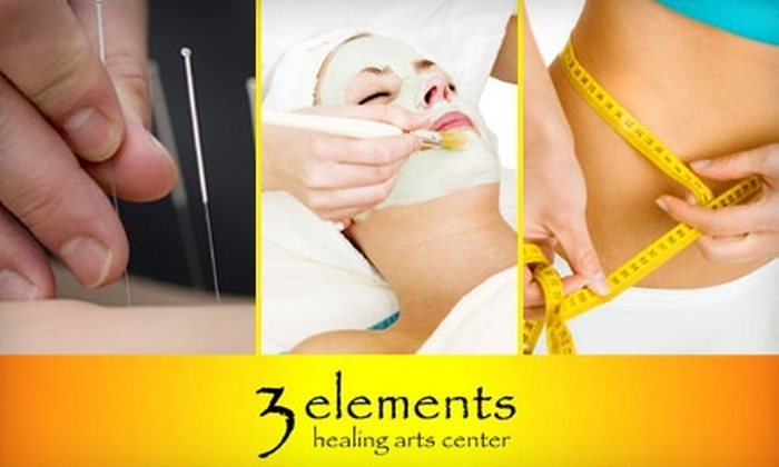 3 Elements Healing Arts Center - Bayside: $40 for a Massage, Facial, Acupuncture, or Weight-Loss Session at 3 Elements Healing Arts Center