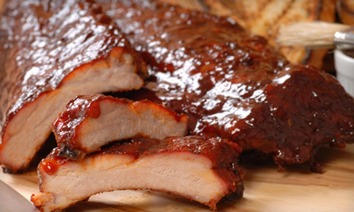 The Silver Flame - Tulsa: Half Off a Baby Back Ribs and Bologna Dinner for Two or Four at The Silver Flame