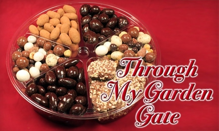 Through My Garden Gate - Cumru:  $12 for a Custom Tray of Gourmet Nuts, Dried Fruits, Trail Mix, and More at Through My Garden Gate