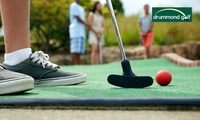 $7 for an 18-Hole Game of Mini Golf for a Family of Four at West Beach Driving Range Drummond Golf (Up to $16 Value)
