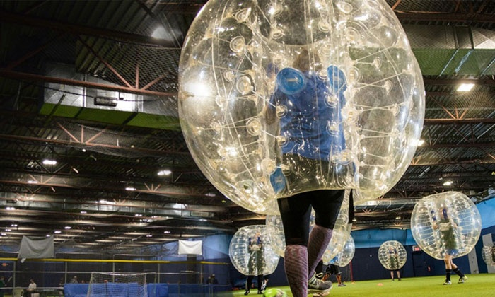 East Coast Sports Academy - Oceanside: Banging Bazooka Ball Party or Bubble Soccer Blow-Out Party at East Coast Sports Academy (Up to 37% Off)