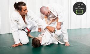 Rilion Gracie Floripa Córrego Grande: Rilion Gracie Floripa – Córrego Grande: 1 mês de aulas de jiu-jitsu adulto ou infantil