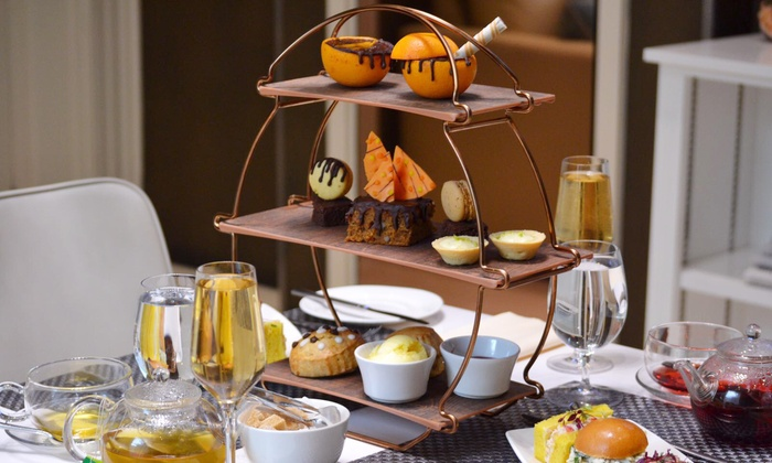 Chocolate and Orange Afternoon Tea for Up to Four with Optional Rose Champagne at 4* Park Grand London Lancaster Gate