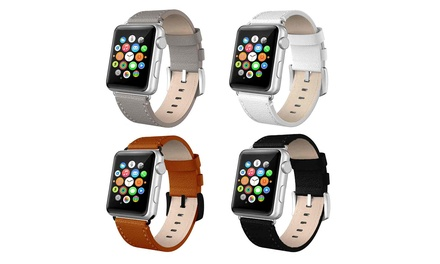 Correa de cuero para Apple Watch