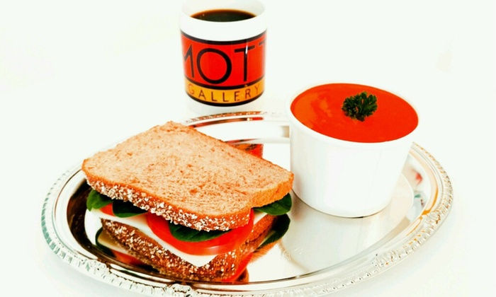 Mott Gallery - Carytown: One Sandwich and Drinks at Mott Gallery (53% Off)
