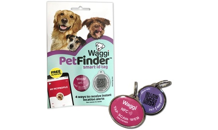 Bunty Waggi Smart Pet ID Tag