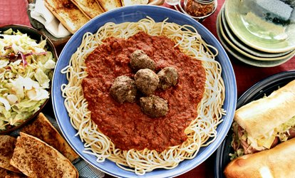 image for Pizza and <strong>Italian</strong> Food at Sweet Taste of Italy (Up to 40% Off)
