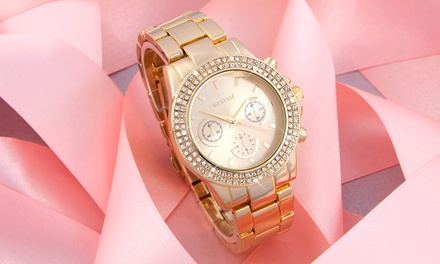 Mestige Womens Bradberry Watch with Crystals from Swarovski® With Free Delivery