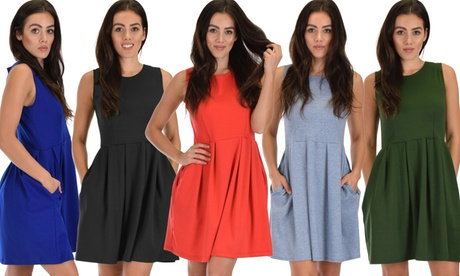 Lyss Loo I'm Smitten Women's Skater Dress