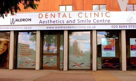 Ceramic Clear or Metal Braces on One or Both Arches at Waldron Dental Clinic