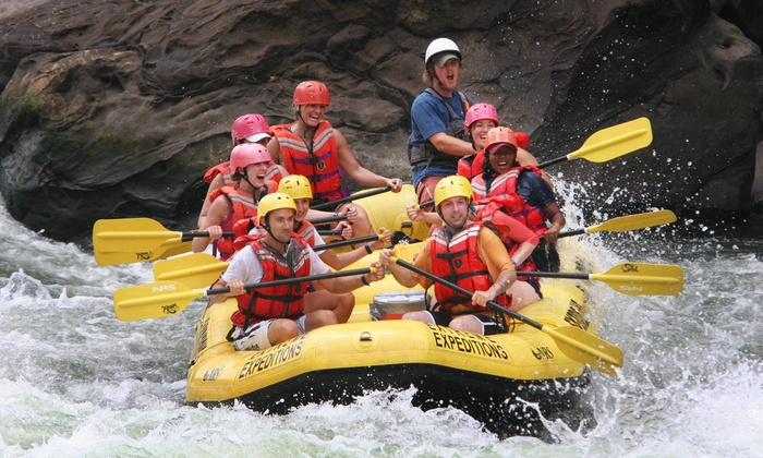 USA Raft - Oak Hill: Two-Night Rafting and Camping Trip with Optional Zipline Experience from USA Raft (Up to 42% Off)