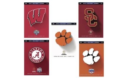 NCAA 2016-17 Bowl Games on Blu-ray and DVD