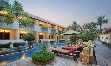 Bali: up to 7 Nights for Two with Daily Breakfast, Direct Pool Access and Transfers at Kuta Lagoon Resort & Pool Villas