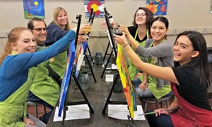 44% Off Paint Outing at Sipping N' Painting Hampden at Sipping N' Painting Hampden, plus 6.0% Cash Back from Ebates.