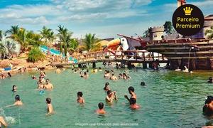 Três Ilhas Clube de Pesca e Lazer: Day use em parque aquático + pescaria para adultos e crianças no Três Ilhas Clube de Pesca e Lazer – São Carlos