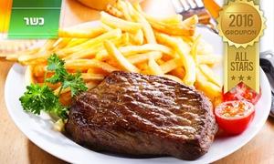 מסעדת הקצבים: מסעדת הקצבים בשוק מחנה יהודה: ארוחת סטייק ליחיד/זוג החל מ-79 ₪, או פלטת קילו בשרים פרימיום רק ב-179 ₪ לזוג!