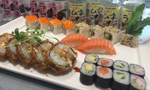 QQ Sushi Lounge Königsbau: Tokio-Menü inkl. japanischer Glaskugel-Limonade für 2 Personen in der QQ Sushi Lounge Königsbau (50% sparen*)