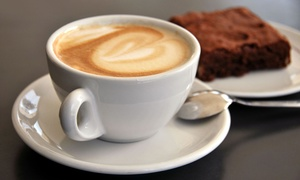 Brew: Coffee and Treats, or Drinks and Appetizers for Two at Brew (Up to 42%Off)